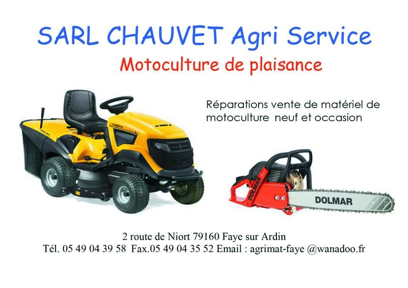 Chauvet Agri service